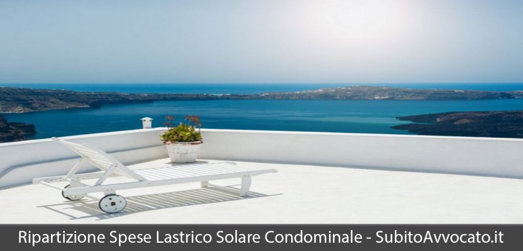 Lastrico solare in condominio – come si ripartiscono le spese?