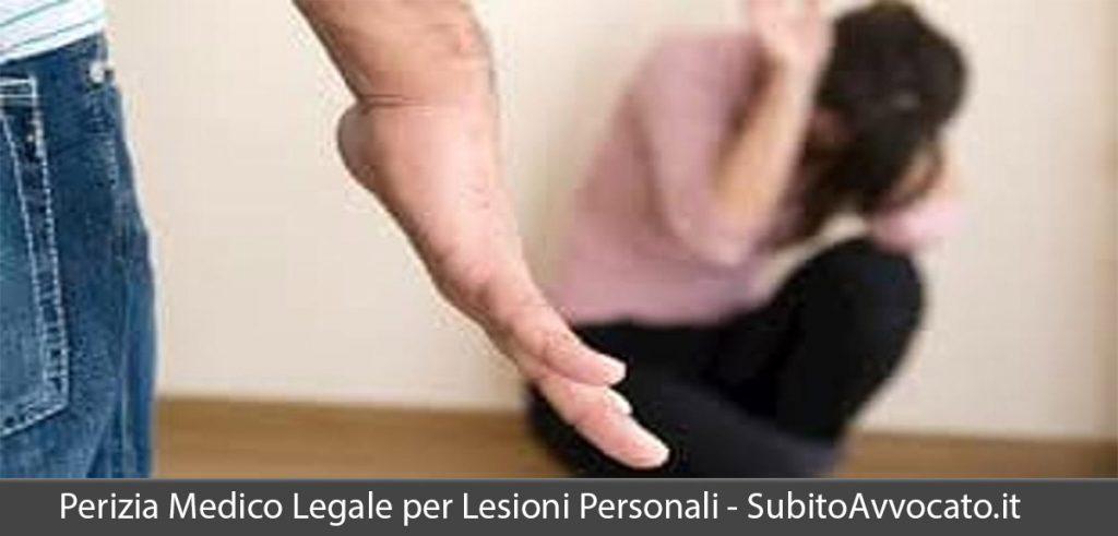 perizia medico legale per lesioni personali