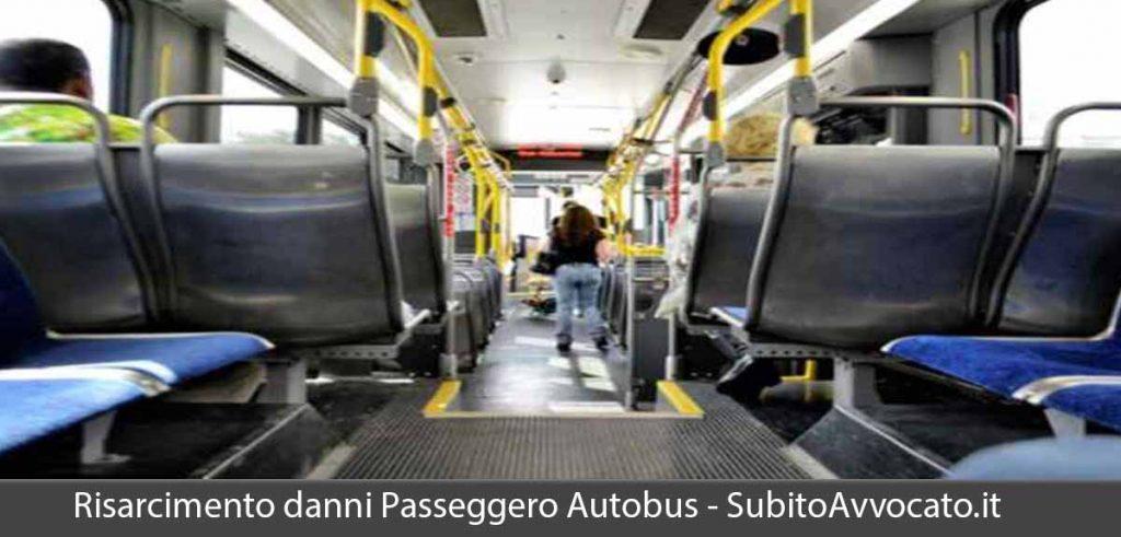 risarcimento danni caduta passeggero autobus