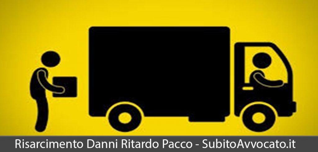 risarcimento danni consegna pacco in ritardo