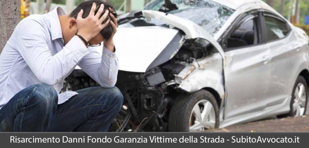 risarcimento danni fondo garanzia vittime della strada