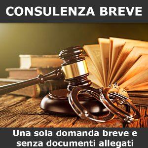 consulenza diritto penale breve