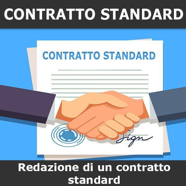redazione contratto standard
