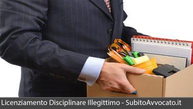 licenziamento disciplinare illegittimo