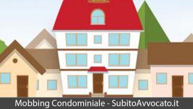 mobbing condominiale