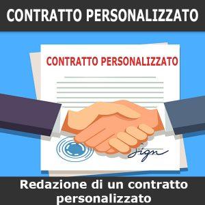 redazione contratto personalizzato