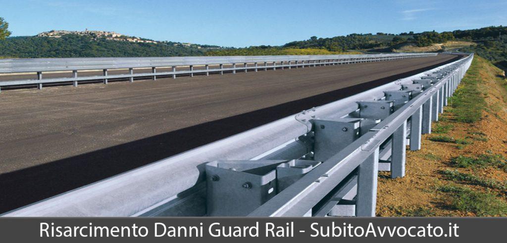 risarcimento danni guard rail