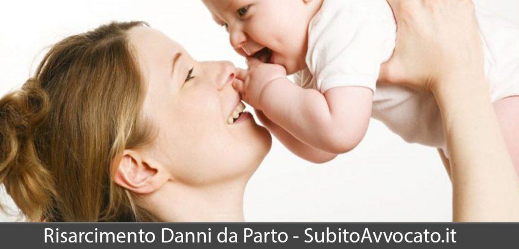 risarcimento danni da parto