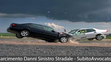 risarcimento danni sinistro stradale