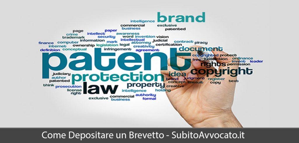 come depositare brevetto