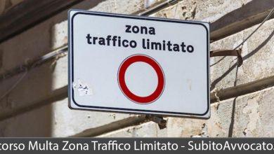 ricorso multa zona traffico limitato